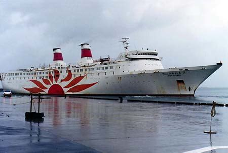 Motorboot Naar Engeland by Quot Sun Flower 11 Quot Of Nihon Kosoku Ferry 1984 Pinqui Via
