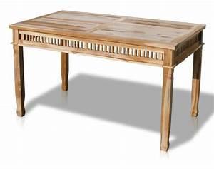 Tischplatte 140 X 80 : kmh teak gartentisch colonial 140 x 80 cm 102055 m bel24 ~ Bigdaddyawards.com Haus und Dekorationen