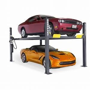 Bendpak Hd9 4 Post Lift  9 000 Pound Lifting Capacity