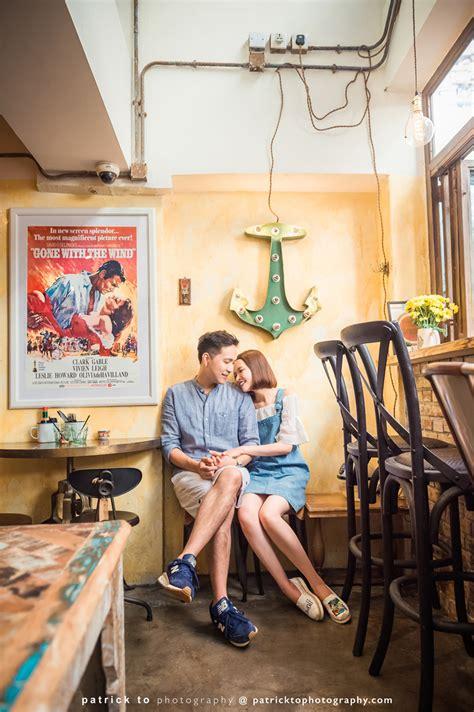 engagement shoot  oldish resto hong kong wedding blog