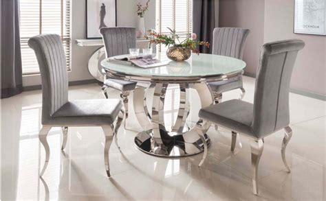 glass dining tables glass kitchen tables