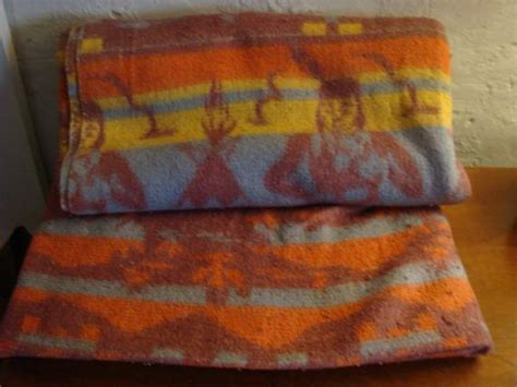 Vintage Camp Blanket 1940s Cotton Indian Motif Blanket Mid Blanket Of Flowers Quilt How To Make A Patch Baby Pillow Talk Hug Me Heavy Should Weighted Be For Child Images Chevron Blankets Sophie The Giraffe Security With Zipper Sunbeam Sleep Express Electric Reviews