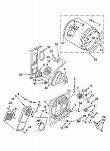 Kenmore 70 Series Dryer Parts Diagram