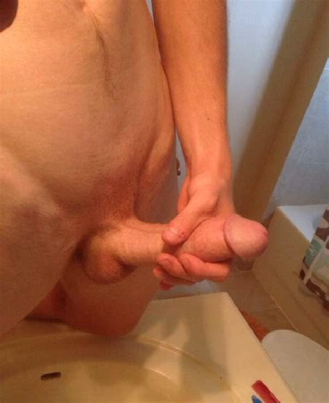 Horny Guy Jerking Off His Hard Dick Nude Gay Boy