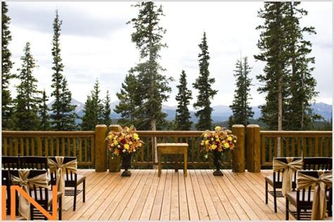 timber ridge wedding ceremony  keystone colorado