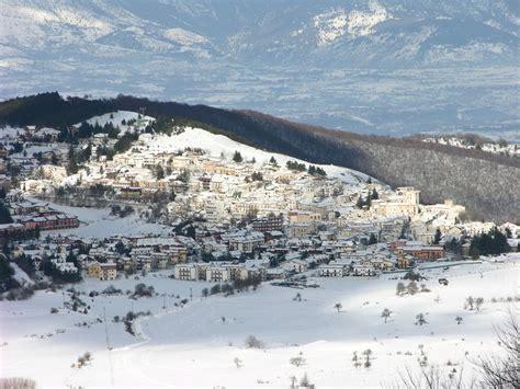 sciare  campo  giove abruzzo febbraio