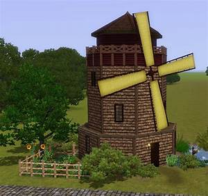 Mod The Sims - Medieval Windmill Home - Ye Olde Kingdom of ...