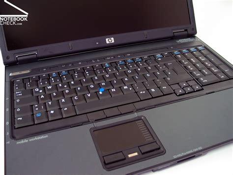 test hp compaq nw notebook notebookcheckcom tests