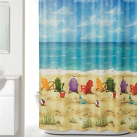Beach Scene Shower Curtain   Bed Bath & Beyond
