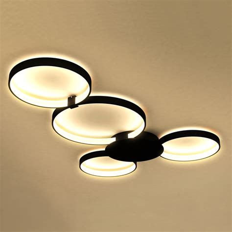 shop sinks and faucets vonn lighting vmcf41500bl capella black ceiling light