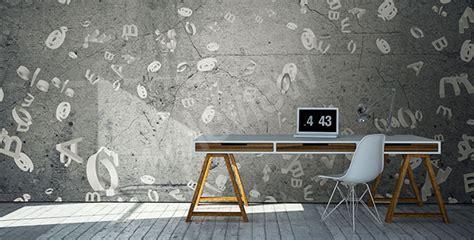 bureau peint papiers peints bureau mur aux dimensions myloview fr
