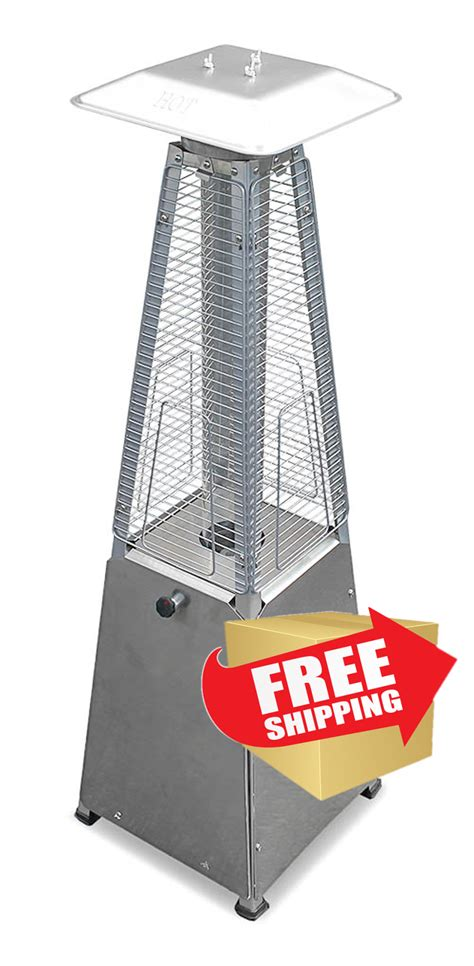 Az Patio Heaters Troubleshooting by Tabletop Quartz Glass Heater Stainless Steel Finish