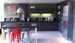 cuisine moderne de style industriel modele arpege With style de cuisine moderne