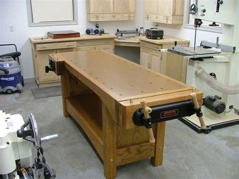 red oak woodworking bench  thequetip  lumberjockscom