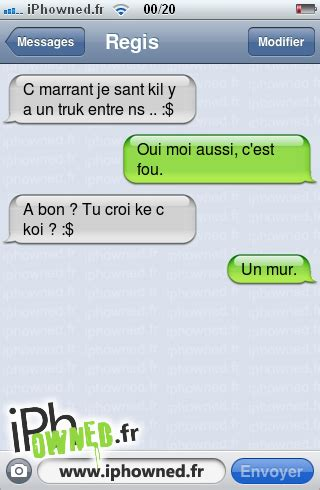 chambre de pute iphowned message sms drole texto rigolo blagues