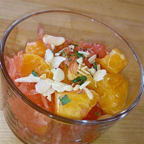 salade de fruits aux agrumes cuisine ta m 232 re