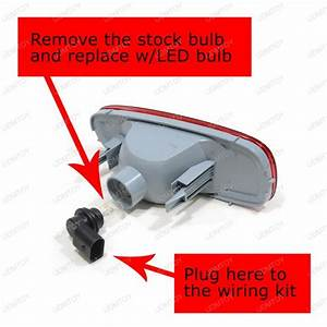 Mini Cooper Led Replacement Bulb W   Rear Fog Lamp Enable