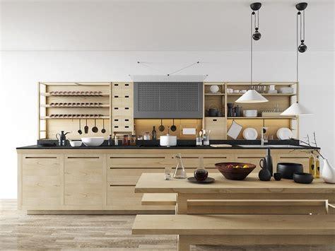 etagere cuisine bois étagères cuisine 35 exemples comment les intégrer pour