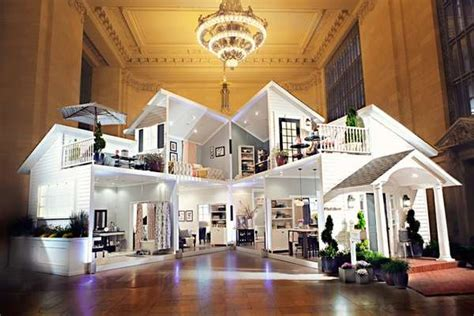 life sized dollhouse installations grand central dollhouse