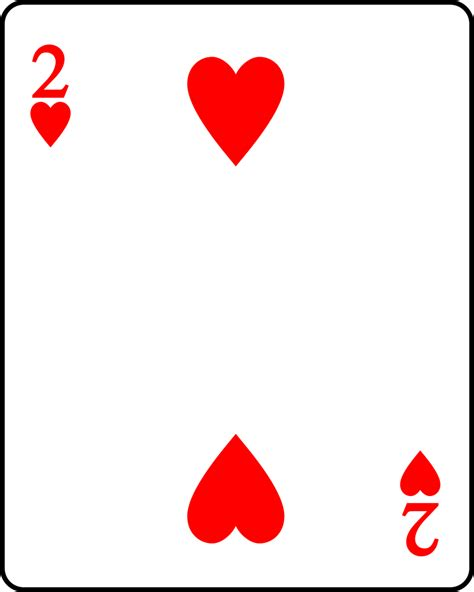 2 player card fichier playing card heart 2 svg wiktionnaire