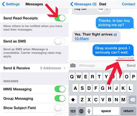 enabledisable read receipts texting tips popsugar