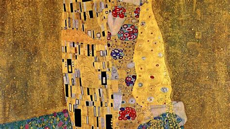 The Kiss Klimt Wallpaper Wallpapersafari