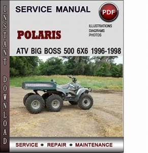 Polaris Atv Big Boss 500 6x6 1996