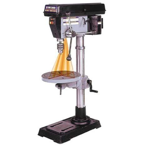 king  drill press  dual laser guide