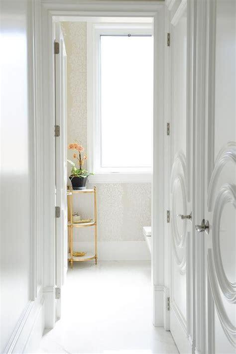 walk in closet doors closet doors with circular panels transitional bathroom