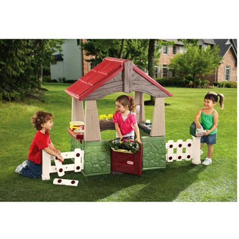 tikes home garden playhouse walmart