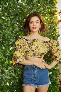 Lucy Hale At 2017 Bustle Magazine Photoshoot - Celebzz ...