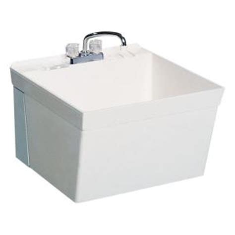 small wall mount utility sink swan 22 875 in x 23 375 in veritek wall mount laundry