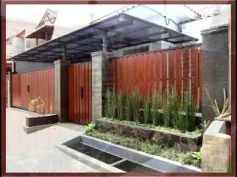 modeldesain pagar kayu minimalis klasik www