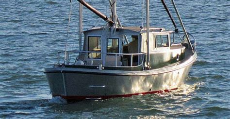 Displacement Hull Fishing Boat by Timbercoast Troller 22 New Displacement Design For