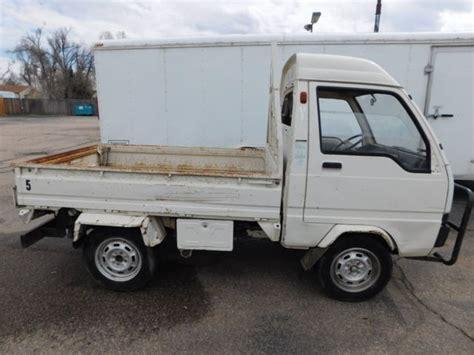 mitsubishi mini truck bed size 1994 mitubishi mighty mite 3 way hydraulic bed pickup