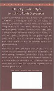 Book Report Dr Jekyll And Mr Hyde Ghostwriterbooksx