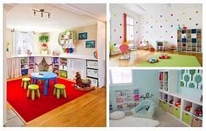 Meuble Rangement Salle De Jeux : la salle de jeux pour les enfants ou pour s amuser d corer ~ Teatrodelosmanantiales.com Idées de Décoration