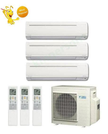 btu daikin tri zone ductless wall mount heat