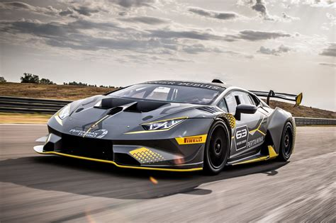 Lamborghini Huracan Super Trofeo Evo Here To Reap Your