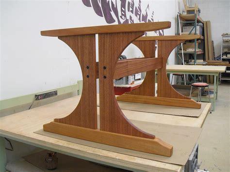 Let's Talk Wood Trestle Table Base