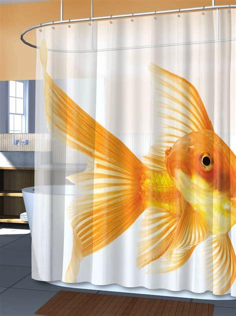 goldfish shower curtain - Goldfish Shower Curtain