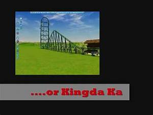 Top Thrill Dragster vs. Kingda Ka - YouTube