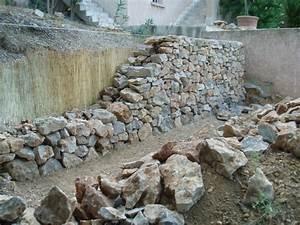 Construire Un Mur En Pierre : mur de sout nement montpellier nord pierre ~ Melissatoandfro.com Idées de Décoration