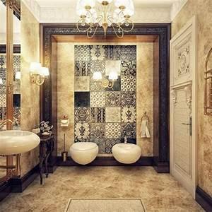 Wandgestaltung Vintage Look : 27 richtig tolle bilder von vintage bad ~ Lizthompson.info Haus und Dekorationen