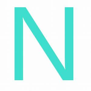 free turquoise letter n icon download turquoise letter n With turquoise letters