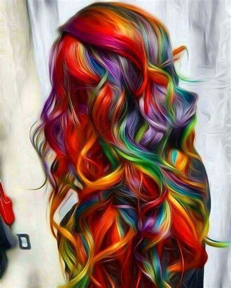 Best 20 Rainbow Dyed Hair Ideas On Pinterest Crazy