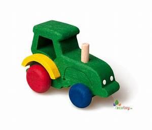 Holzauto Für Kleinkinder : spielzeug traktor aus holz f r kleinkinder ab 3 jahren ~ Eleganceandgraceweddings.com Haus und Dekorationen