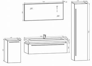 dimension meuble double vasque solutions pour la With dimension meuble de salle de bain