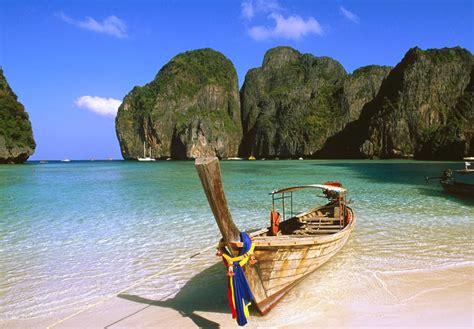 Koh Phi Phi Islandthailand Wallpaper View