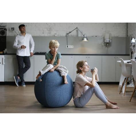 swiss siege vluv velt siege ballon pouf gymball pour salon bureau